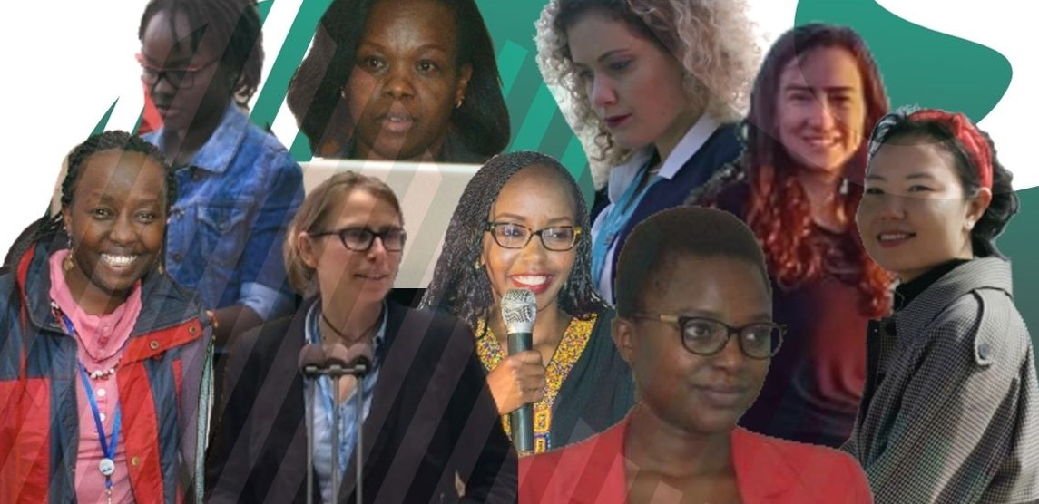 9 women of the Development Corridors Partnership creating pathways for sustainable and equitable African futures